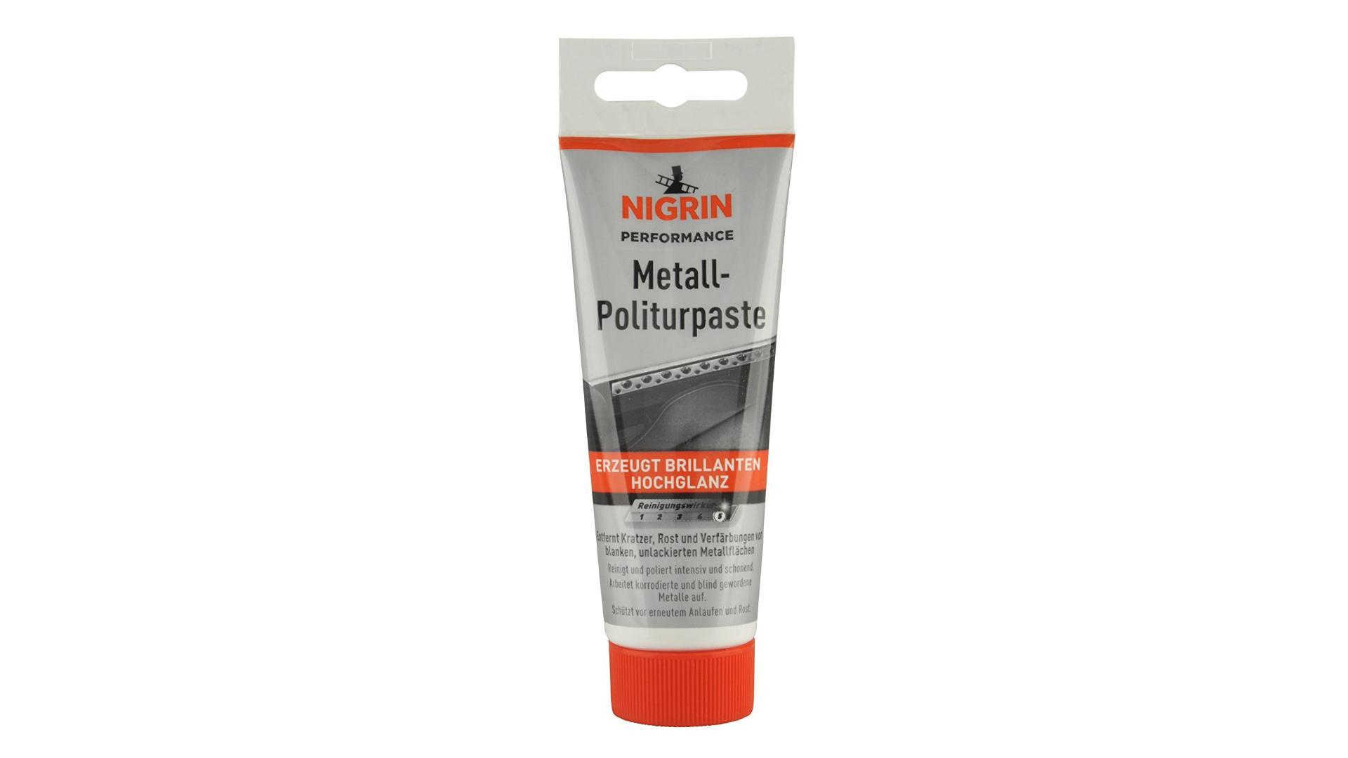 NIGRIN Metal polishing paste 75ml