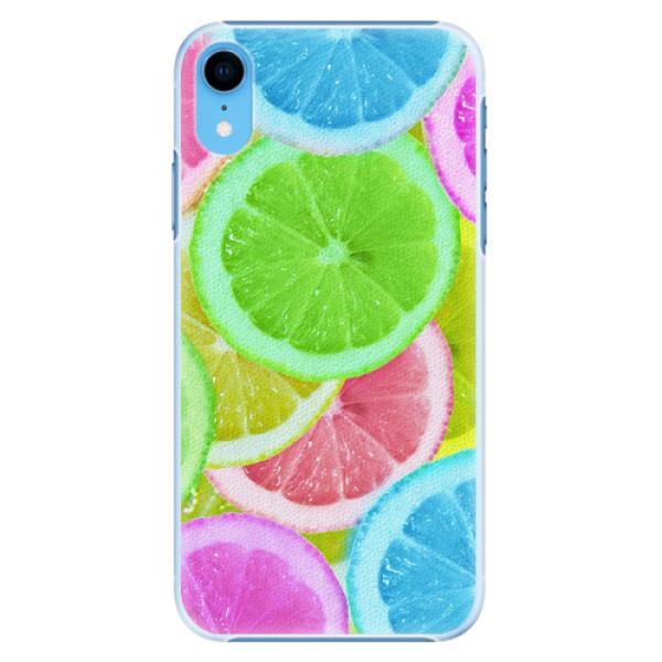 Plastové pouzdro iSaprio - Lemon 02 - iPhone XR