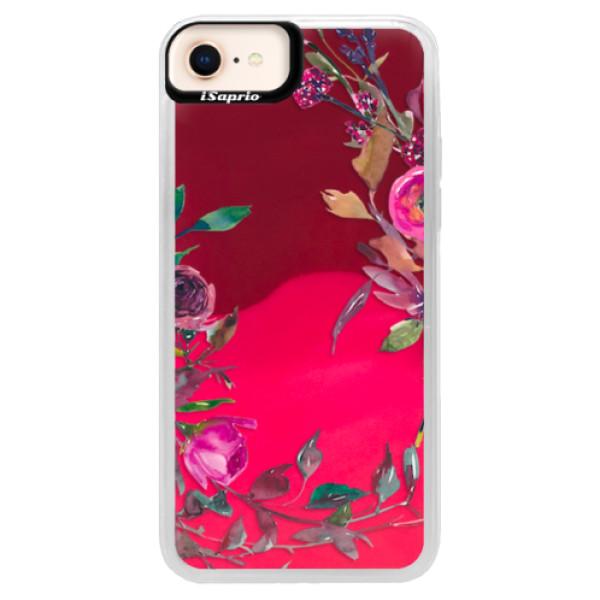 Neonové pouzdro Pink iSaprio - Herbs 01 - iPhone 8