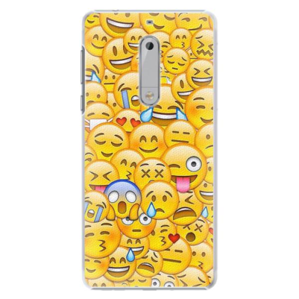 Plastové pouzdro iSaprio - Emoji - Nokia 5
