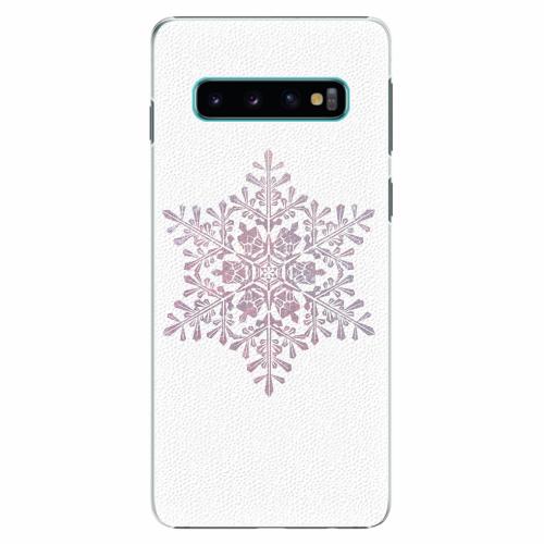 Plastový kryt iSaprio - Snow Flake - Samsung Galaxy S10