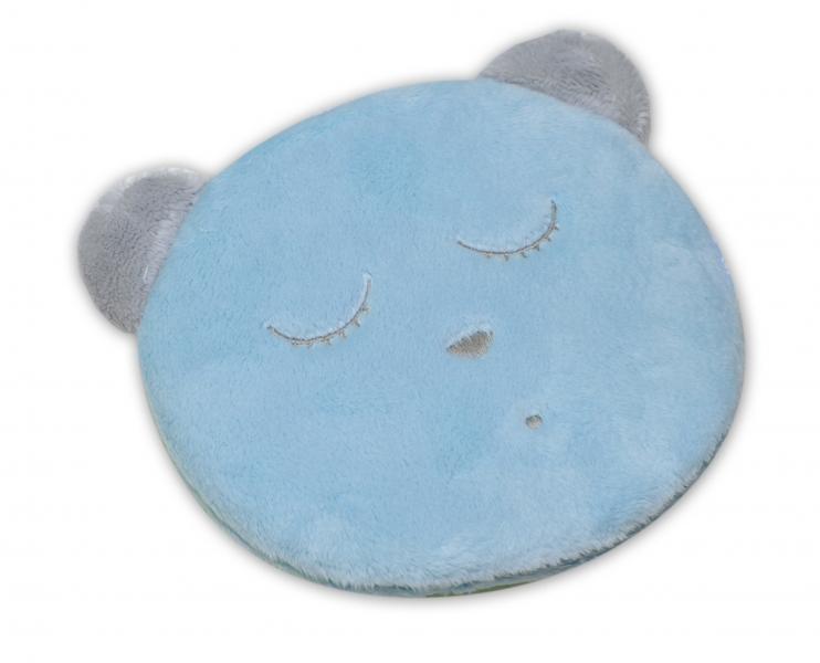 Šumící mazlíček Medvídek Sleep - modrý