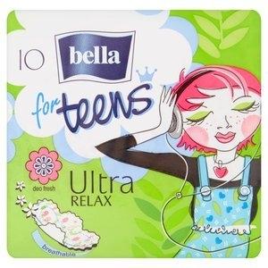 For Teens Ultra Relax hygienické vložky s křidélky a jemnou vůní 10 ks/bal.