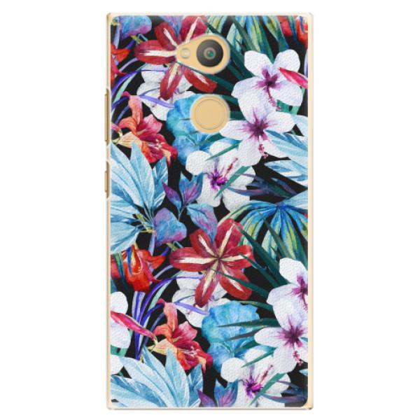 Plastové pouzdro iSaprio - Tropical Flowers 05 - Sony Xperia L2