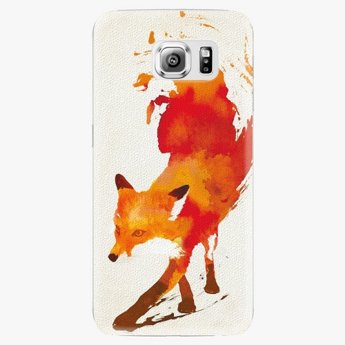 Plastový kryt iSaprio - Fast Fox - Samsung Galaxy S6