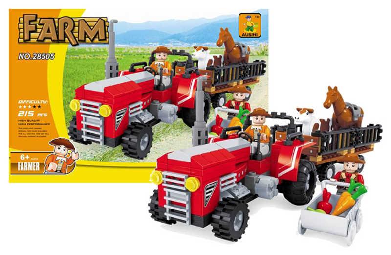 Stavebnice FARMA traktor 215 dílků