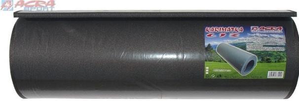 ACRA Karimatka jednovrstvá tmavě šedá 180 x 50 x 1 cm