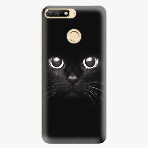 Plastový kryt iSaprio - Black Cat - Huawei Y6 Prime 2018