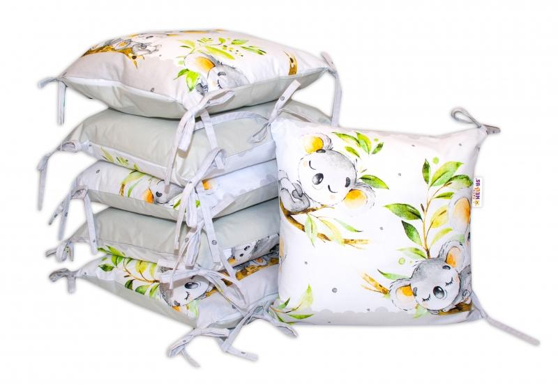 bavlneny-polstarkovy-mantinel-baby-nellys-medvidek-koala-sedy