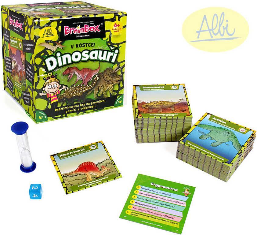 ALBI HRA V Kostce! Dinosauři