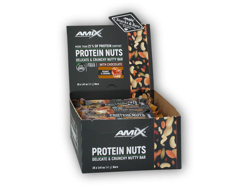 MIX 25x Protein Nuts Crunchy