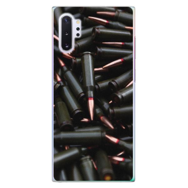 Plastové pouzdro iSaprio - Black Bullet - Samsung Galaxy Note 10+