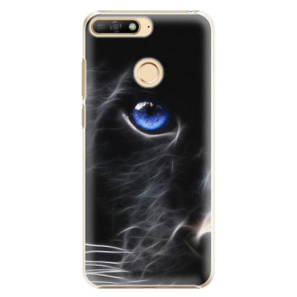 Plastové pouzdro iSaprio - Black Puma - Huawei Y6 Prime 2018