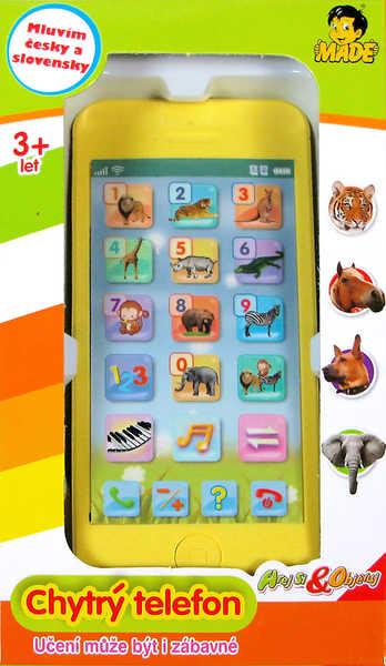 Telefon naučný s funkcemi Hrej si a objevuj