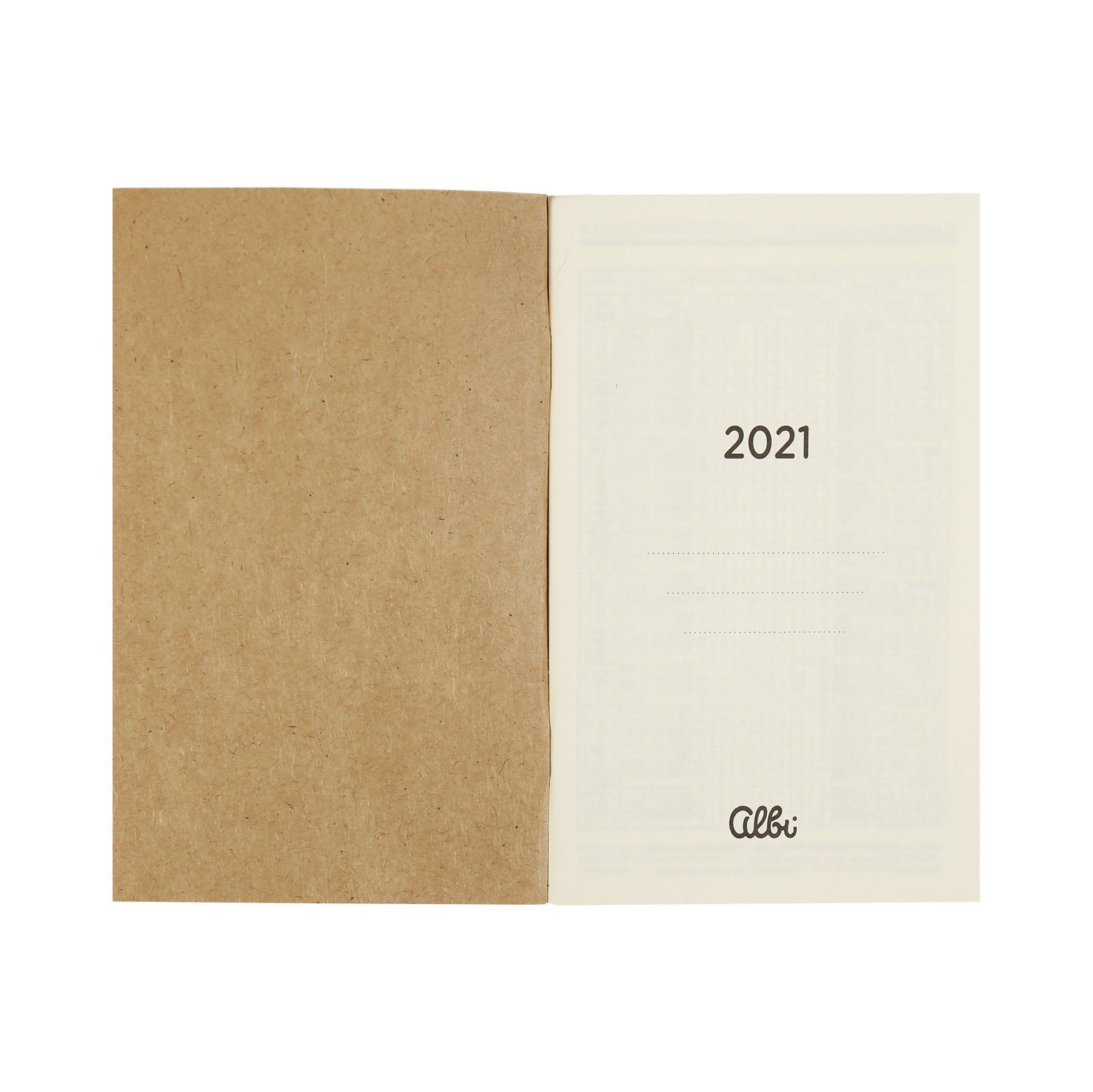 Kalendárium 2021 pro Luxusní diář