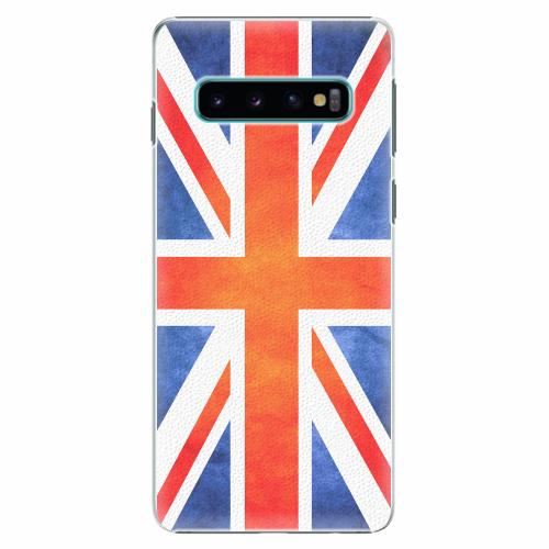 Plastový kryt iSaprio - UK Flag - Samsung Galaxy S10