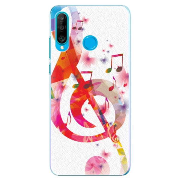 Plastové pouzdro iSaprio - Love Music - Huawei P30 Lite