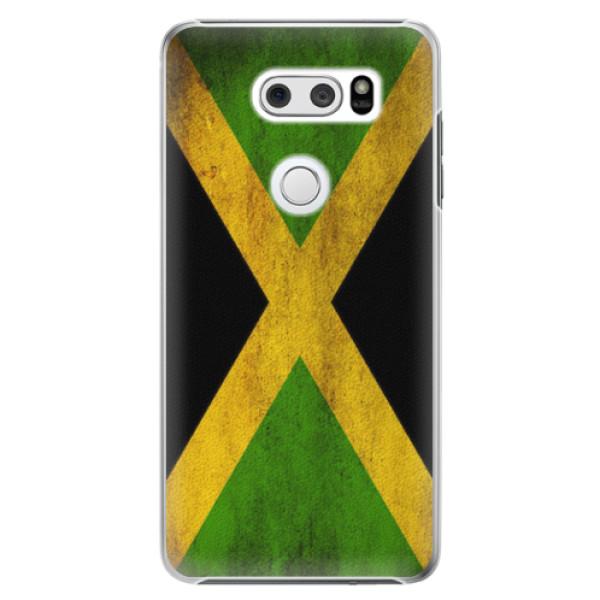 Plastové pouzdro iSaprio - Flag of Jamaica - LG V30
