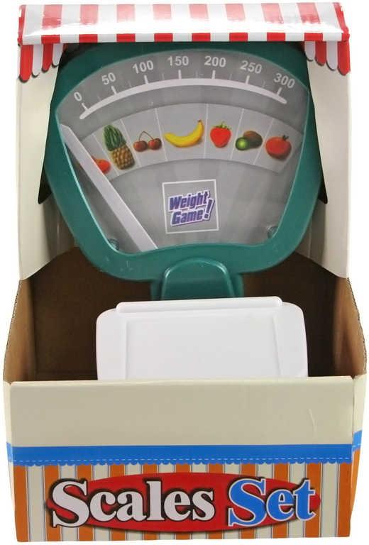 Váha dětská kuchyňská plastová ovoce a zelenina