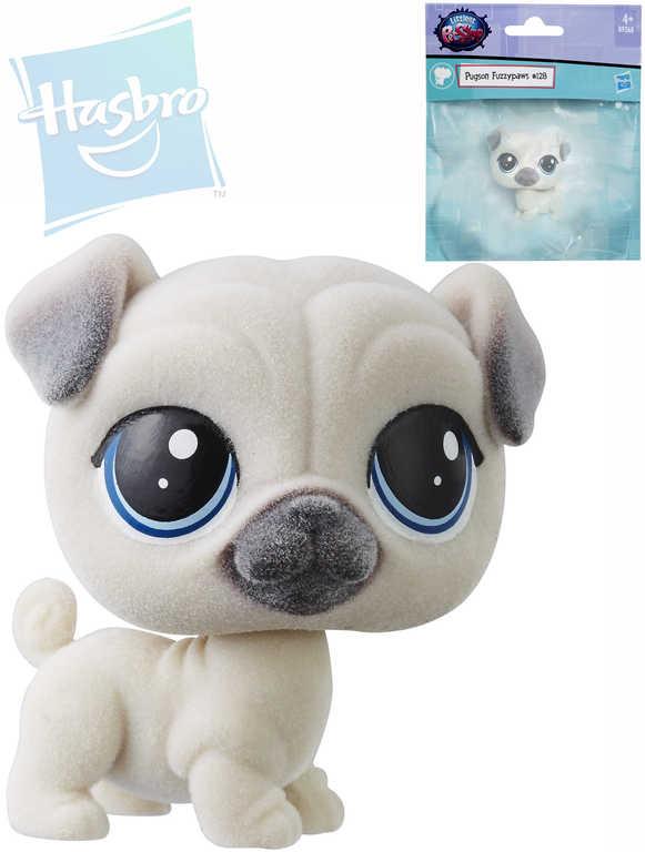 HASBRO LPS Littlest Pet Shop mopslík Pugson Fuzzypaws zvířátko v sáčku