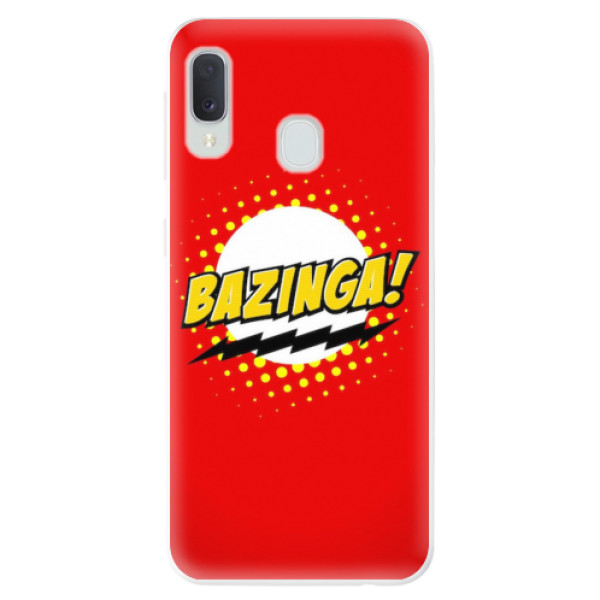 Odolné silikonové pouzdro iSaprio - Bazinga 01 - Samsung Galaxy A20e