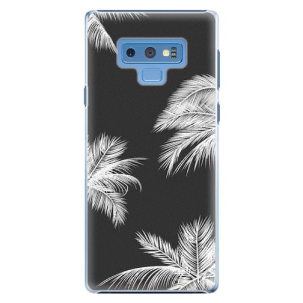 Plastové pouzdro iSaprio - White Palm - Samsung Galaxy Note 9