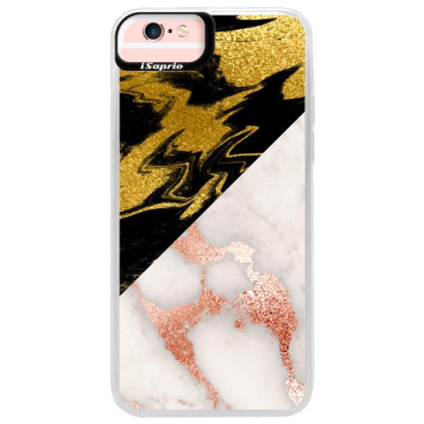 Neonové pouzdro Pink iSaprio - Shining Marble - iPhone 6 Plus/6S Plus