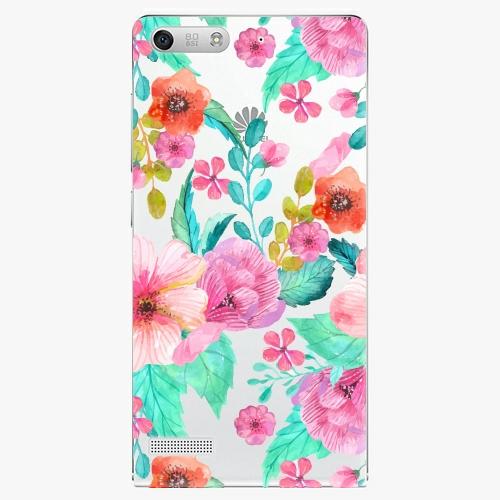 Plastový kryt iSaprio - Flower Pattern 01 - Huawei Ascend G6