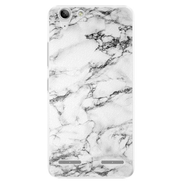 Plastové pouzdro iSaprio - White Marble 01 - Lenovo Vibe K5