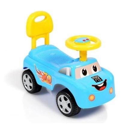 Moni Dětské odrážedlo, odstrkovadlo Keep Riding - modré