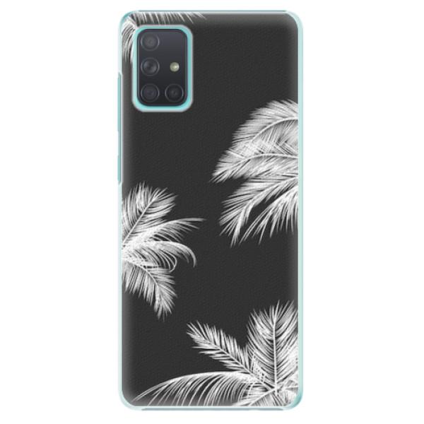Plastové pouzdro iSaprio - White Palm - Samsung Galaxy A71