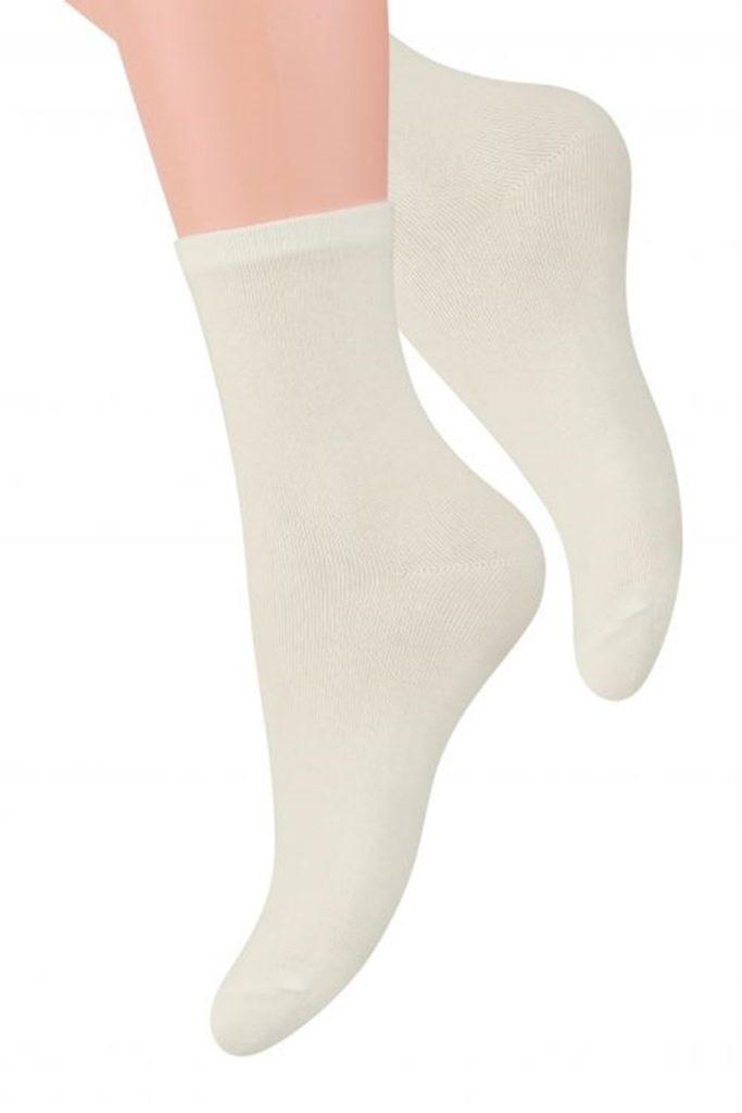 Dámské ponožky 037 ecru