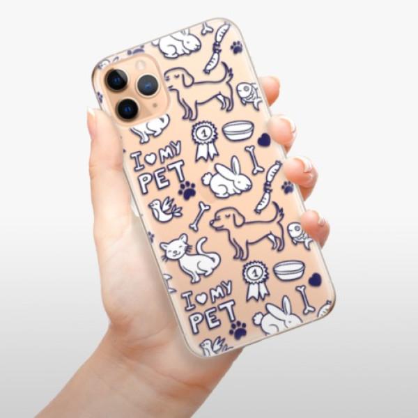 Odolné silikonové pouzdro iSaprio - Love my pets - iPhone 11 Pro Max