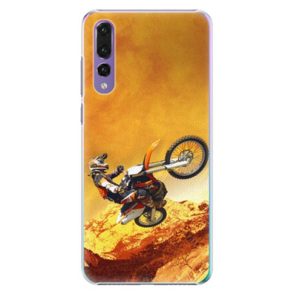 Plastové pouzdro iSaprio - Motocross - Huawei P20 Pro