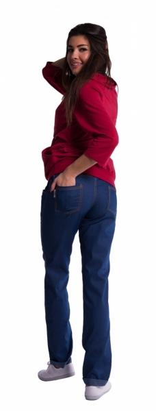 Be MaaMaa Těhotenské kalhoty - světlý