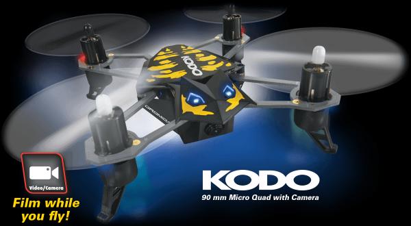 Kvadrokoptéra Kodo Camera černá