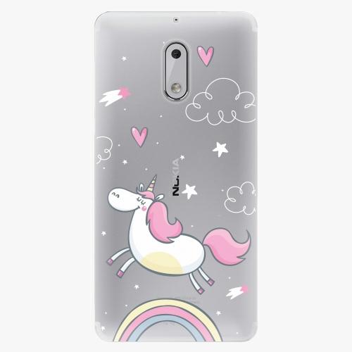 Plastový kryt iSaprio - Unicorn 01 - Nokia 6