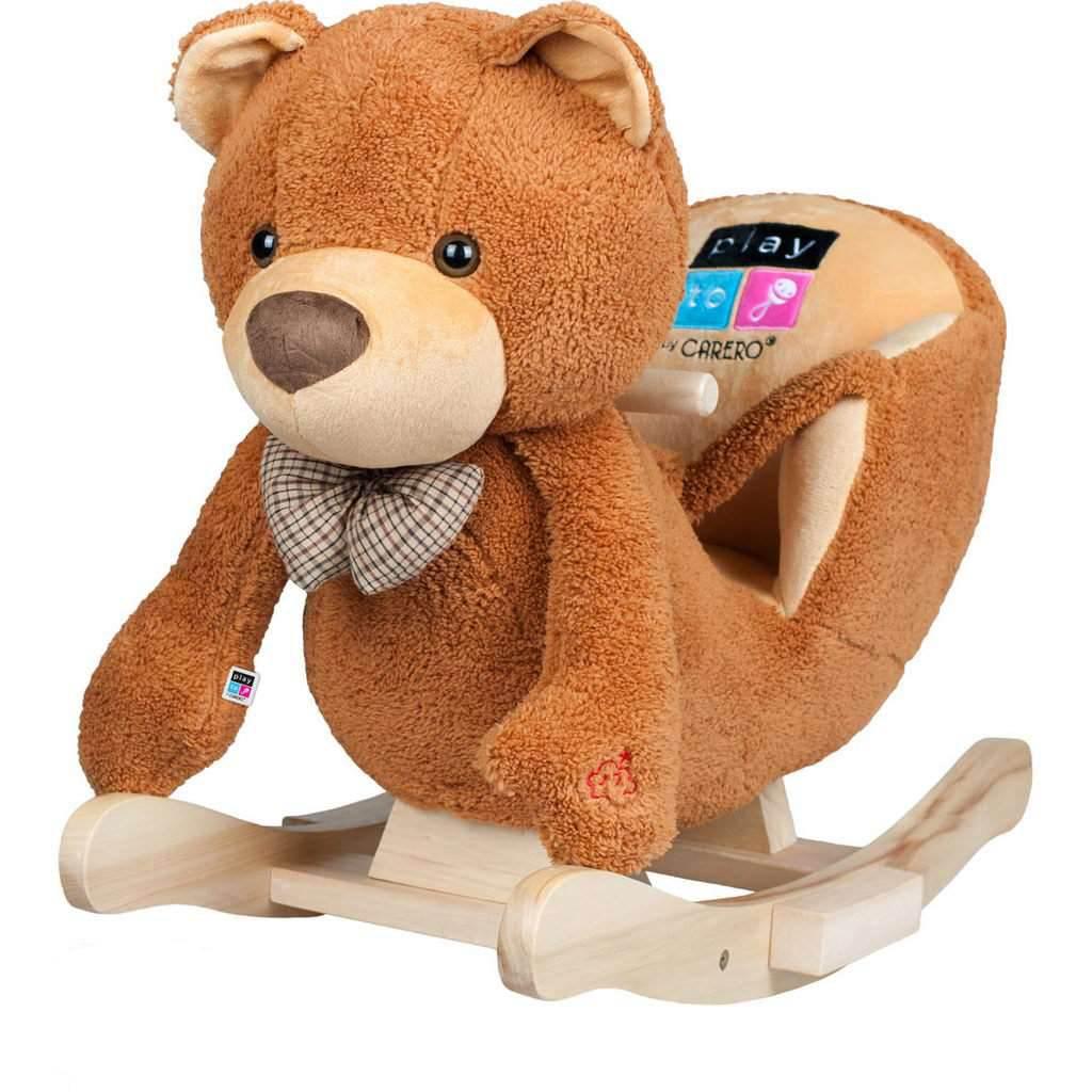 Houpací hračka s melodií PlayTo medvídek - hnědá