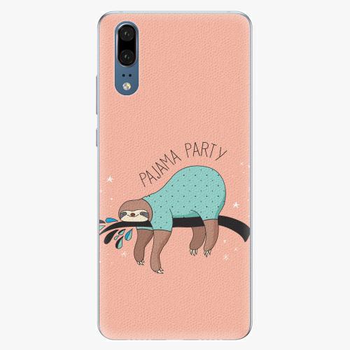 Silikonové pouzdro iSaprio - Pajama Party - Huawei P20
