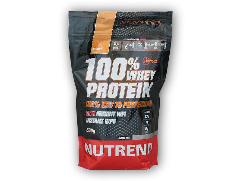 100% Whey Protein 500g - AKCE-vanilka