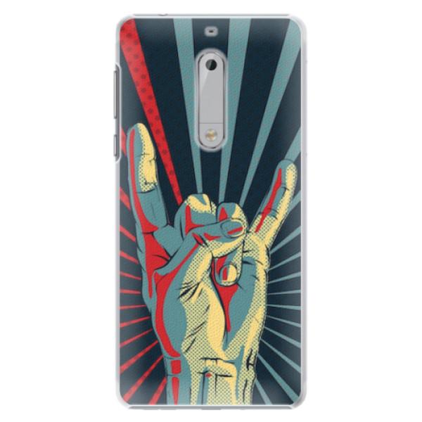 Plastové pouzdro iSaprio - Rock - Nokia 5