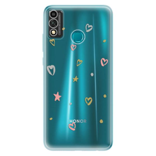 Odolné silikonové pouzdro iSaprio - Lovely Pattern - Honor 9X Lite