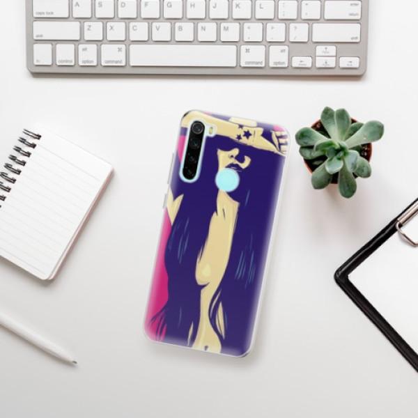 Odolné silikonové pouzdro iSaprio - Cartoon Girl - Xiaomi Redmi Note 8