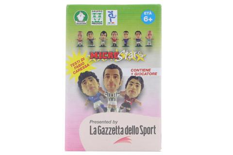 MicroStars - fotbalista box