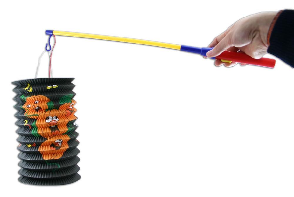 Hůlka (držák) na lampióny plast na baterie, se světlem