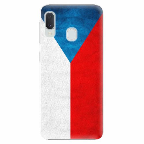 Plastový kryt iSaprio - Czech Flag - Samsung Galaxy A20e