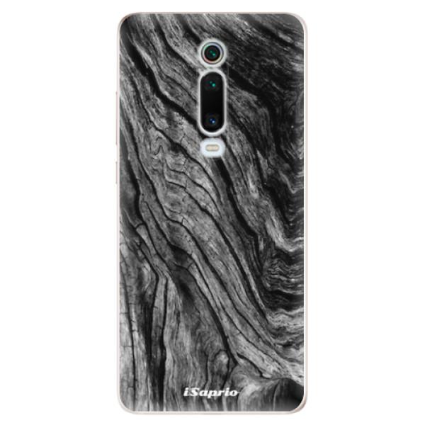 Odolné silikonové pouzdro iSaprio - Burned Wood - Xiaomi Mi 9T Pro