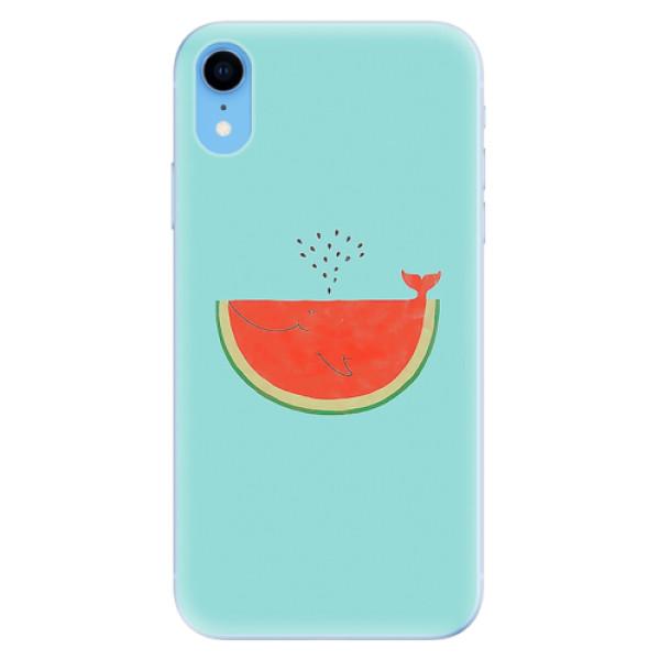 Odolné silikonové pouzdro iSaprio - Melon - iPhone XR