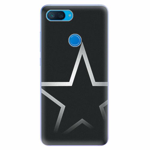 Silikonové pouzdro iSaprio - Star - Xiaomi Mi 8 Lite