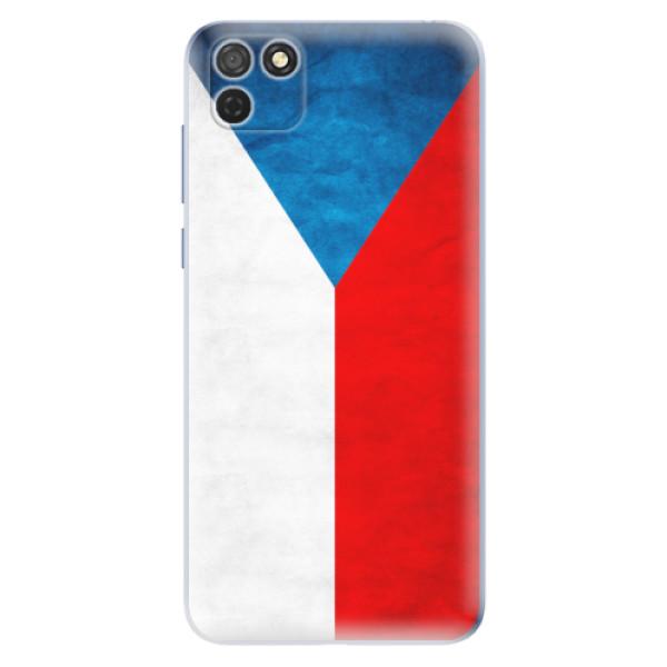 Odolné silikonové pouzdro iSaprio - Czech Flag - Honor 9S